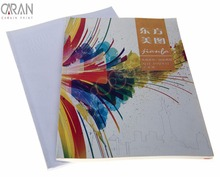 Free sample and design colorful printing softcover photos book with custom requests