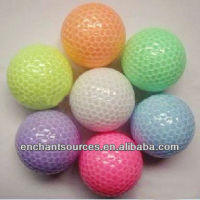 Glow Golf Ball Wholesale With Custom