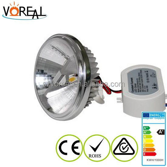 cool white 15w C REE ar111 led light with CE ROHS approved