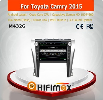 HIFIMAX New 9'' android car dvd gps for toyota camry 2012