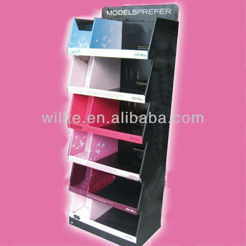 Customized beauty products display shelf shenzhen factory