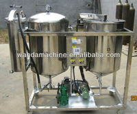 Best selling automatic soybean sesame oil refining machine with CE&ISO90001