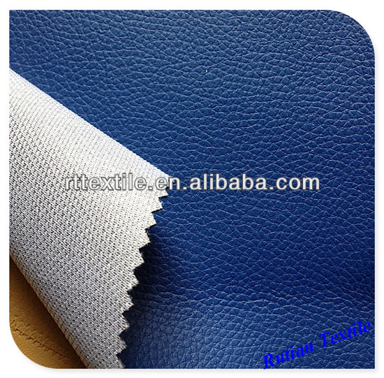 polyester PVC leather fabric, thickness 0.80mm