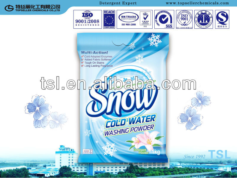 bag pack detergent powder