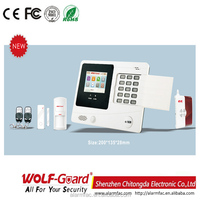 Security And Protection Gsm Wireless LCD
