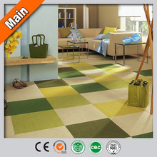 Office Hotel Home Use Cut Pile Interlocking Carpet Tiles