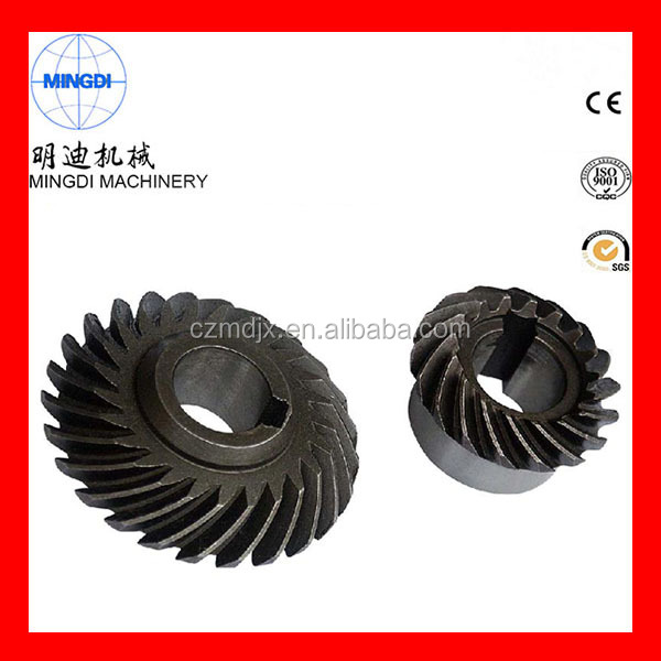 Industrial CNC Gear Cutting Machines For Sprial Bevel bevel gear and shaft