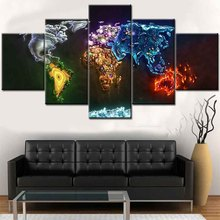 the world map Paintings Canvas Art/ Wall Decoration Canvas Print/ Giclee On Canvas