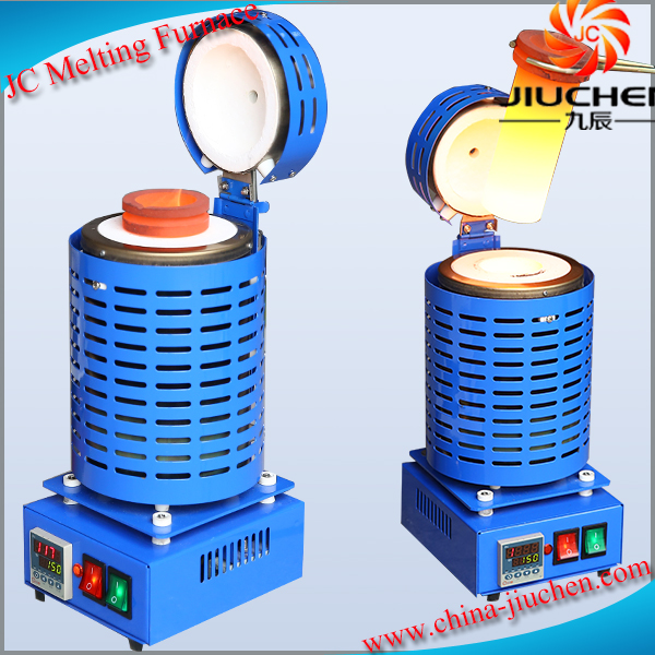 240V 1kg Electric Smelter Furnace for Melting Gold Silver