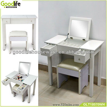 Goodlife GLT18070 dresser table with mirror