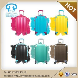 Travelmate trolley luggage travel bags hard shell waterproof spinner suitcase