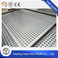 black painting round shape perforated metal mesh