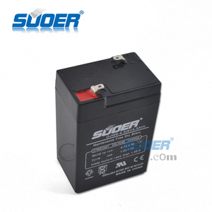 Suoer 2015 New Storage Battery 4.5A Solar Energy Storage Battery 6V Storage Battery with CE&ROHS