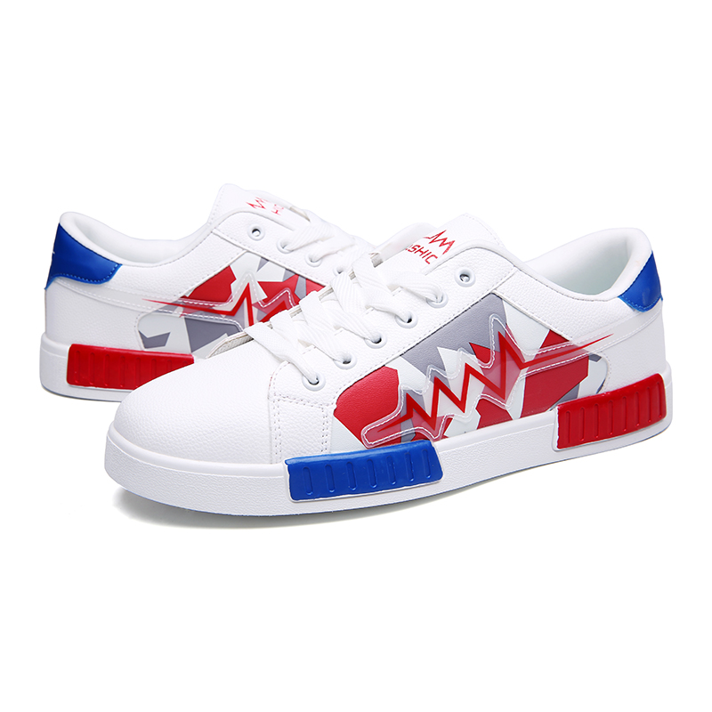 factory loweat price casual shoes with custom logo,popular brand name white men casual skate shoes