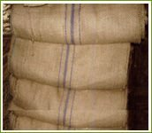 SACKING JUTE BAGS FOR COFFEE, COCOA, HAZEL NUTS, MAIZE, RICE & OTHER FOOD GRAINS