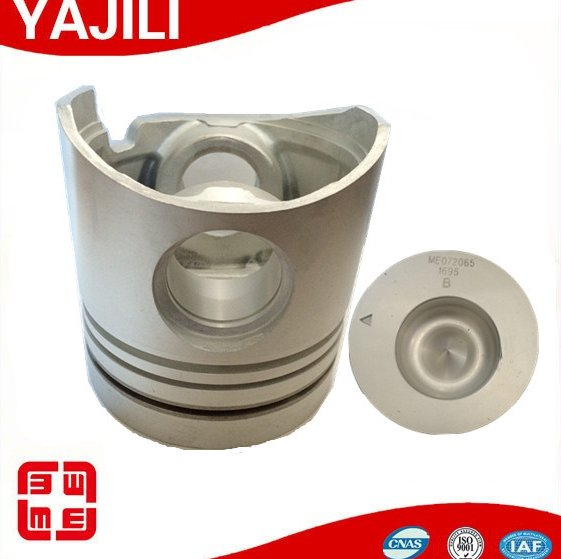michubishi piston 6D16 ME072065 excavator spare parts diesel engine