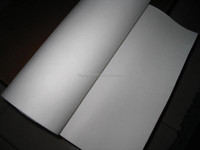 Refractory insulation ceramic fiber non-flammable security material paper