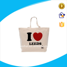 High quality cotton canvas bag for promotion,cotton canvas shopping tote bag,natural color cotton tote bag