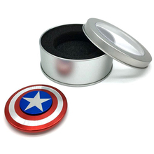 Light portable high speed steering wheel spinner knob with CE competitive price Captain America spinner toy