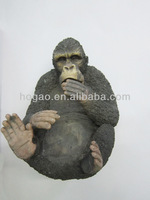 resin chimpanzee wine stand, animal wine holder