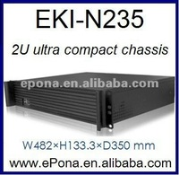 2U ultra compact chassis EKI-N235 industrial PC case for server