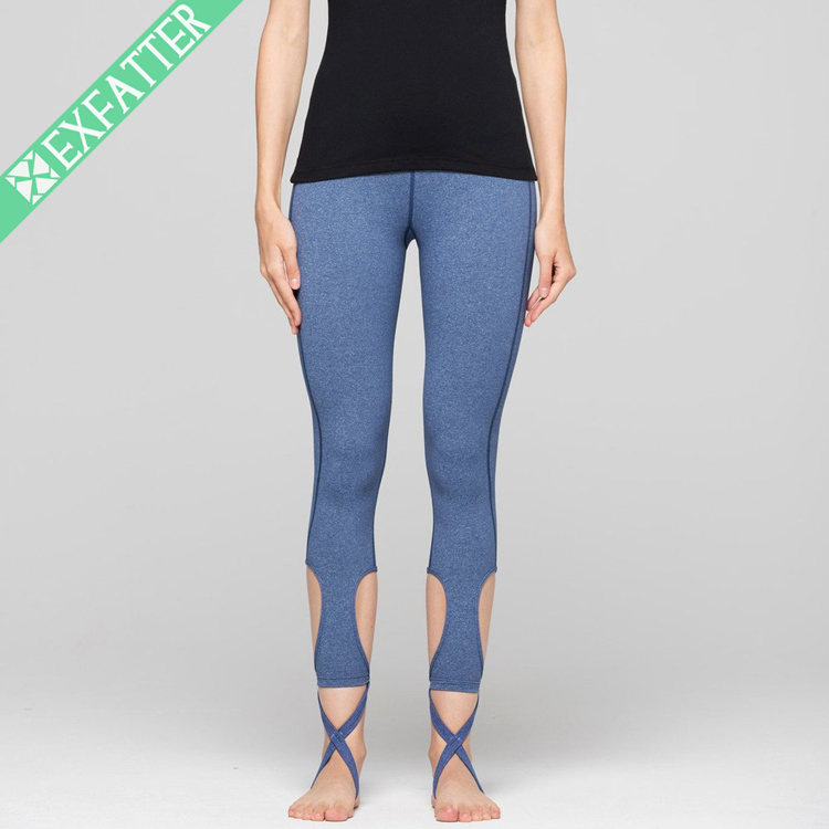 The Latest design Breathable Custom Bamboo Women Yoga Pants