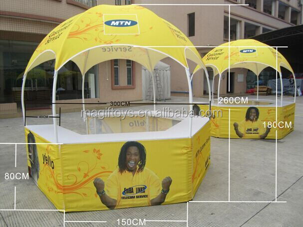 Advertising tents with Table/Trade <strong>Show</strong> Tent with Table/3x3m Printing Tent