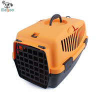 Luxury Durable Pet Carrier Bag Portable Plastic Cat Flight Carriers