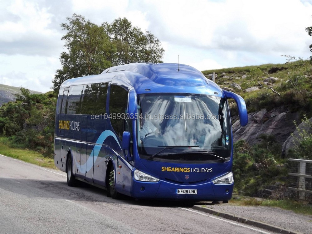 Bus:Used Luxury Coach Travelling bus