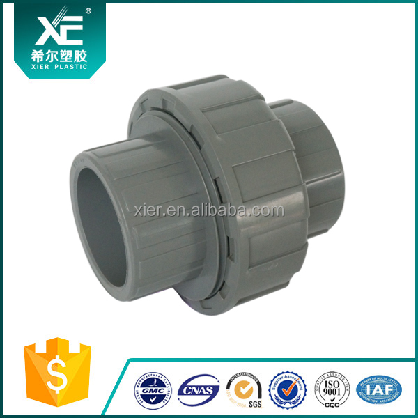 Plastic UPVC Joint Pipe Union for Water Treatment