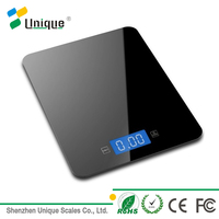 finger touch digital kitchen food scale