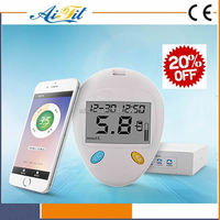 High Quality Wireless Alibaba Hot Sale Smart Bluetooth Glucometer, blood glucose / cholesterol meter, SIFHEALTH-3.1