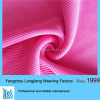 100% polyester knitting rib fabric in tube for garment