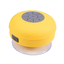 suction cup speaker waterproof ipx4,3W suction cup bluetooth speaker,H20 bluetooth speaker suction cup for BT-S06