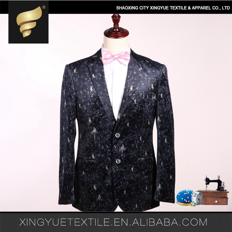 Fashion Plain wine color men suit