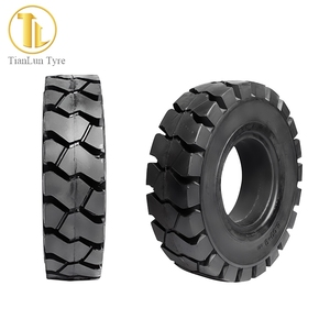 Cheap Chinese Tires Wholesale price forklift solid 4.00-8 tires