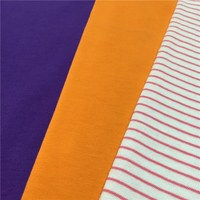 High quality combed cotton knitting single jersey fabric for kids
