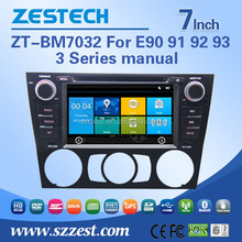 car dvd gps navigation system For BMW E90 91 92 93 3series manual car gps with auto radio Bluetooth SD USB Radio wifi 3G