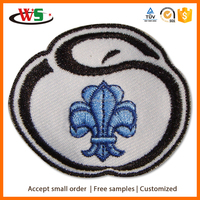 Factory direct sales cute nice patches embroidery
