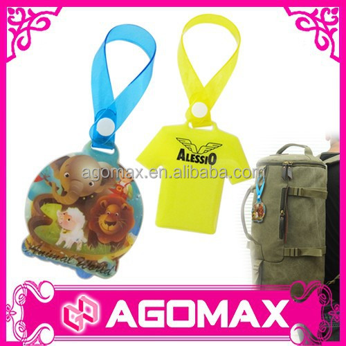 Manufacturer OEM functional airline custom luggage tag factory
