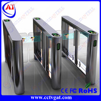 RFID card reader swing barrier gate,stainless steel security swing gate,Hidden Gate Turnstile