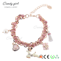 Candygirl Brand Beautiful Cheap Braided Bead