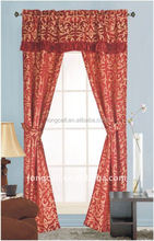 Curtain design cutome manufactory price window curtain used hotel curtains