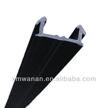 "1"" Cashier feet base plastic PVC channel strips U shaped profile"