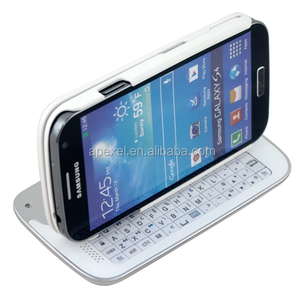 Bluetooth Slide Keyboard & Stand Case for Samsung Galaxy S4 S IV i9500 /S3 I9300