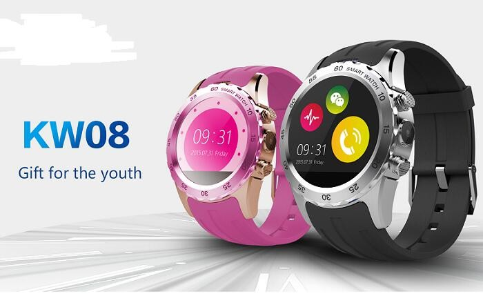1.22 inch IPS With Heart Rate IOS&Android Sport Smart Watch KW08