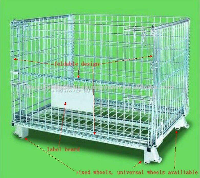 JS Collapsible international standard mesh cage