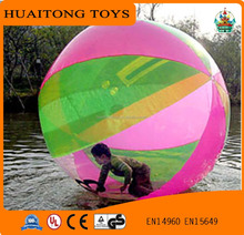 Colorful inflatable human balloon water walking ball for kids and adults