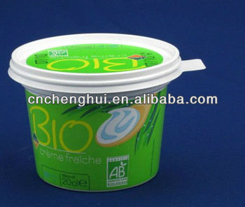 Icecream Paper Cup with Plastic Lid