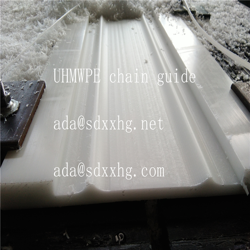 hot sale UHMWPE Trackes for guiding belts, chain and cables/UHMWPE chain guide